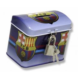 Hucha baúl del F.C. Barcelona.