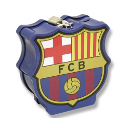 F.C. Barcelona Money Box zip.