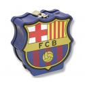 Hucha con candado del F.C. Barcelona.