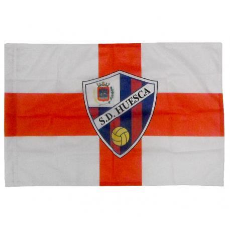 Bandera de la S.D. Huesca.