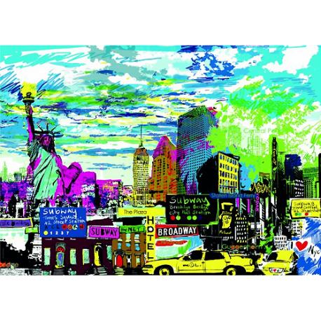 Puzzle de 1000 pièces I Love New York!.