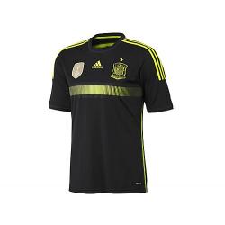 Camiseta oficial 2ª equipación Selección España 2014.