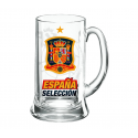 Jarra de cerveza grande de la Selección de España.