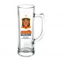 Jarra de cerveza 500 CL de la Selección de España.