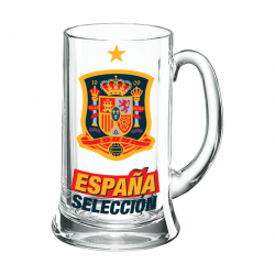 Spain Selection Beer Tankard XXL 1 liter.