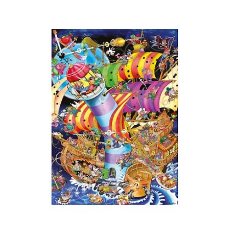 Puzzle de 1.000 piezas Lighthouse Crash.