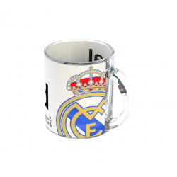 Taza mug del Real Madrid.