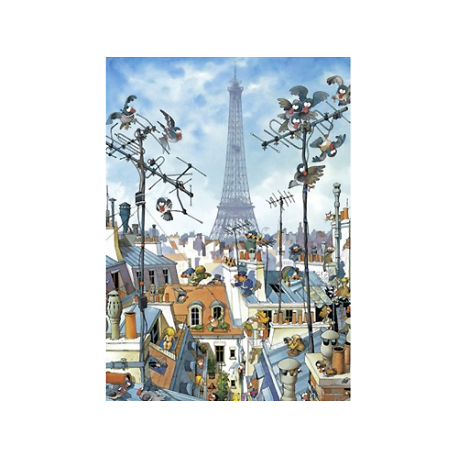 Eiffel Tower 1000 pieces puzzle.