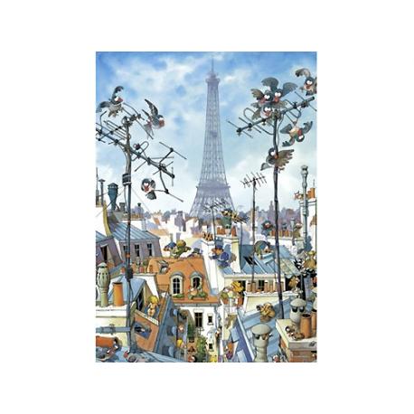 Puzzle de 1.000 piezas Eiffel Tower.
