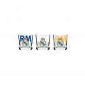 Set de 3 petit verre Real Madrid.