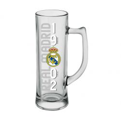 Jarra de cerveza 500 CL del Real Madrid.
