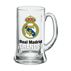 Real Madrid Beer Tankard XXL 1 liter.