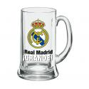 Real Madrid Beer Tankard XXL 1 liter.
