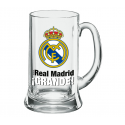 Verre à bière XXL Real Madrid.