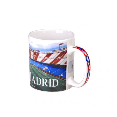 Atletico de Madrid Cup porcelain mug.