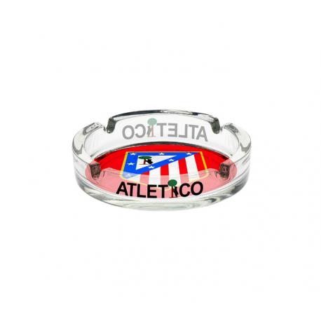 Cenicero pequeño del Atlético de Madrid.