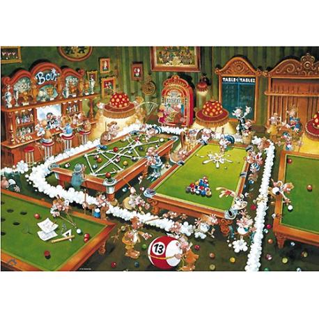 Puzzle de 1000 pièces Billiard.