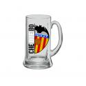 Jarra de cerveza mediana del Valencia C.F.