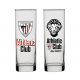 Vaso de tubo del Athletic de Bilbao.