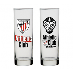 Vaso de tubo del Athletic de Bilbao.