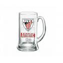 Verre à bière moyenne Athletic de Bilbao.