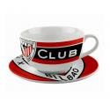 Athletic de Bilbao Porcelain Bowl and plate.