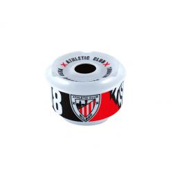 Cenicero de agua porcelana del Athletic de Bilbao.