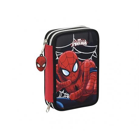 Plumier doble pequeño de Spider-man.