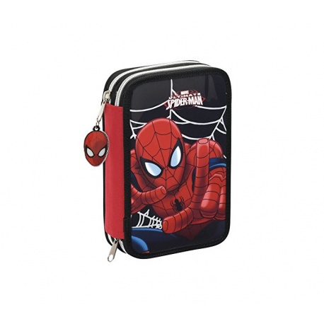 Spider-man Small Double pencil case.