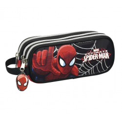 Trousse 3 compartiments Spider-man.