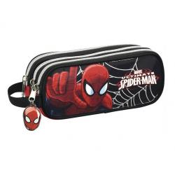 Trousse 3 compartiments Spider-man.