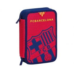 Petite trousse double F.C.Barcelona.