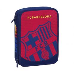 Plumier doble grande del F.C.Barcelona.
