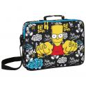 Maletín extraescolar de Los Simpsons.