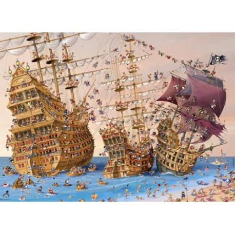 Puzzle de 1000 pièces Corsair.