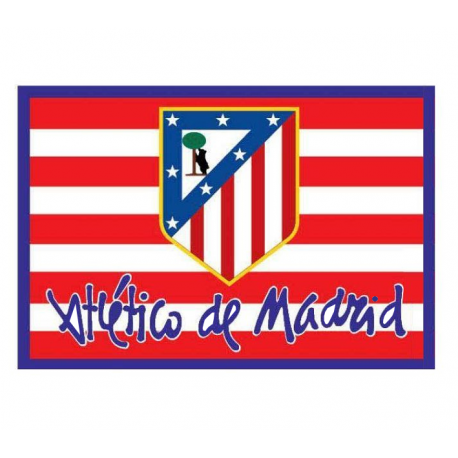 Drapeau Atlético de Madrid.