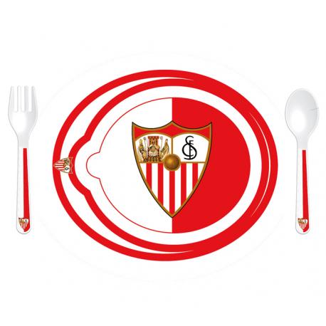 Vajilla infantil 3 piezas del Sevilla F.C.