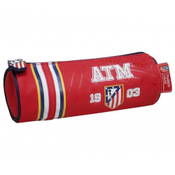 Atlético de Madrid Barrel Pencil Case.
