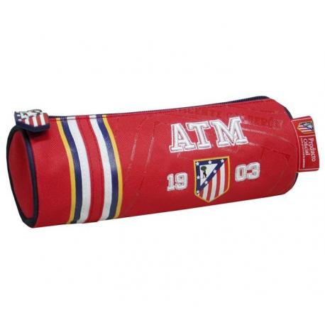 Atlético de Madrid Barrel Pencil Case.