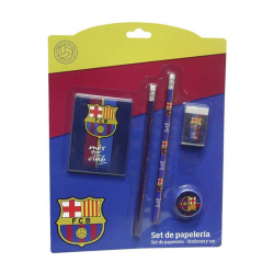 F.C.Barcelona Stationery Blister small.