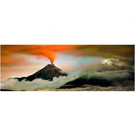 Volcano 1000 pieces puzzle.