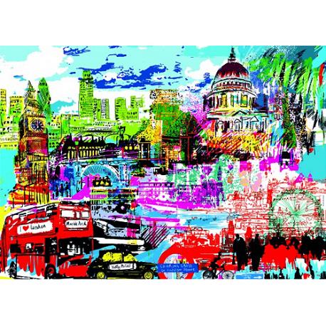 Puzzle de 1.000 piezas I Love London!.