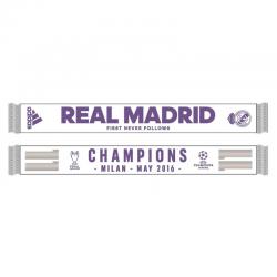 Bufanda Campeones de Europa 2016 Real Madrid.