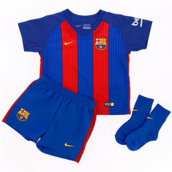 F.C.Barcelona Infants Home Kit 2016-17.