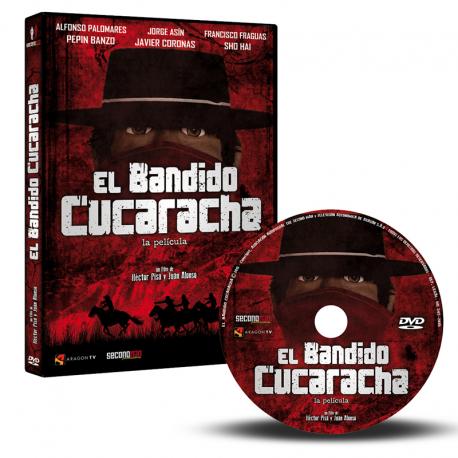 DVD El Bandido Cucaracha.