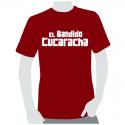 Camiseta chica El Bandido Cucaracha.