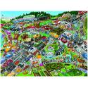 Puzzle de 1500 pièces Traffic Jam.