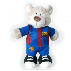 Peluche 25 cm. oso del F.C.Barcelona.