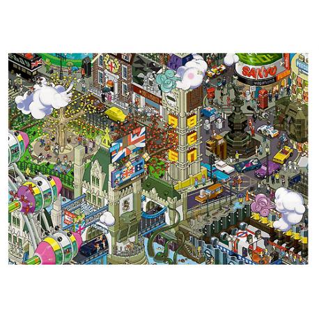 Puzzle de 1.500 piezas London.