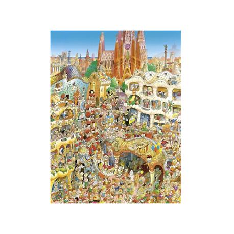 Puzzle de 1500 pièces Barcelona.